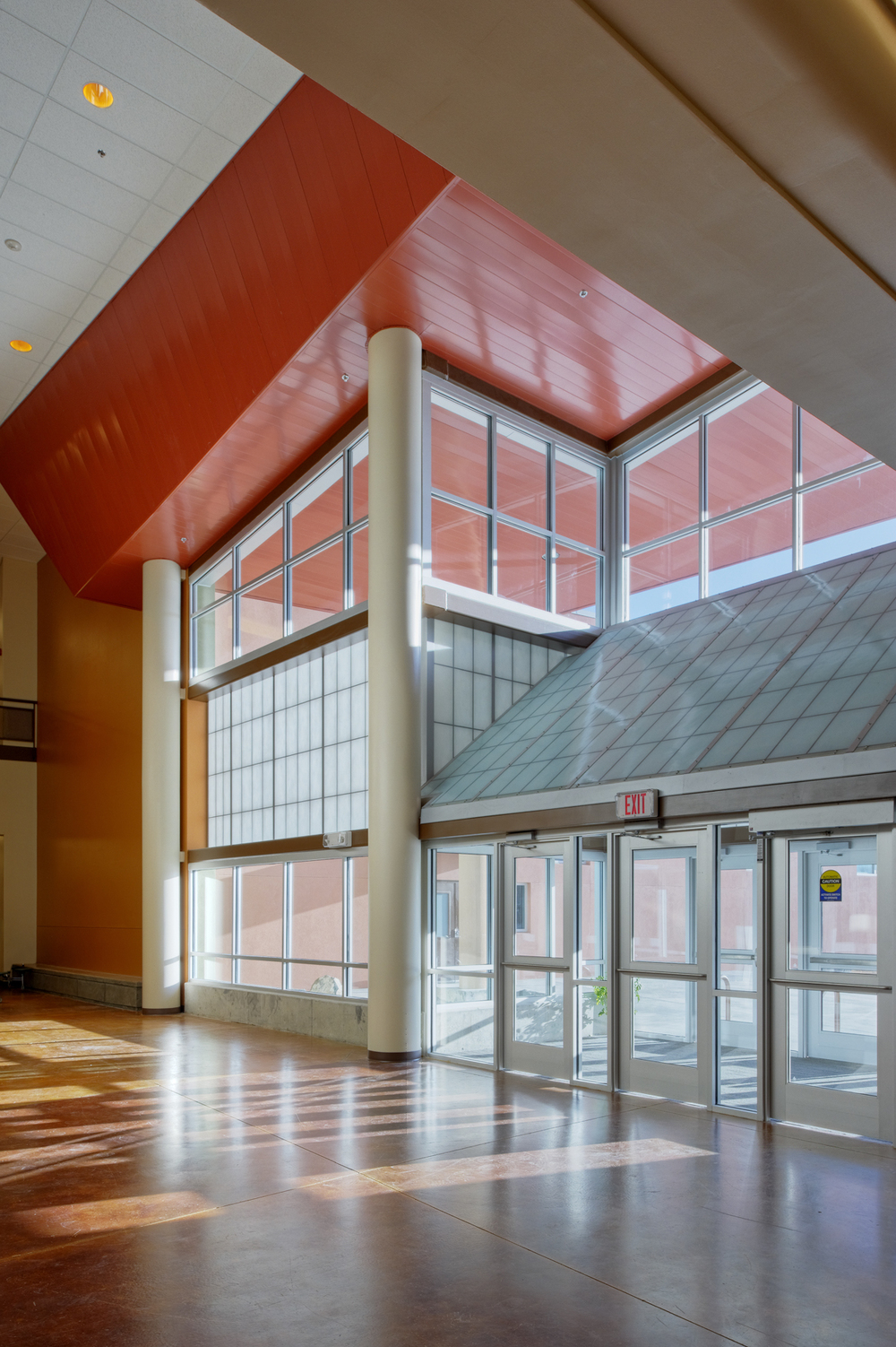 Volcano Vista High School Entrance Interior