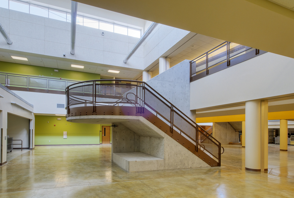 Volcano Vista High School Interior