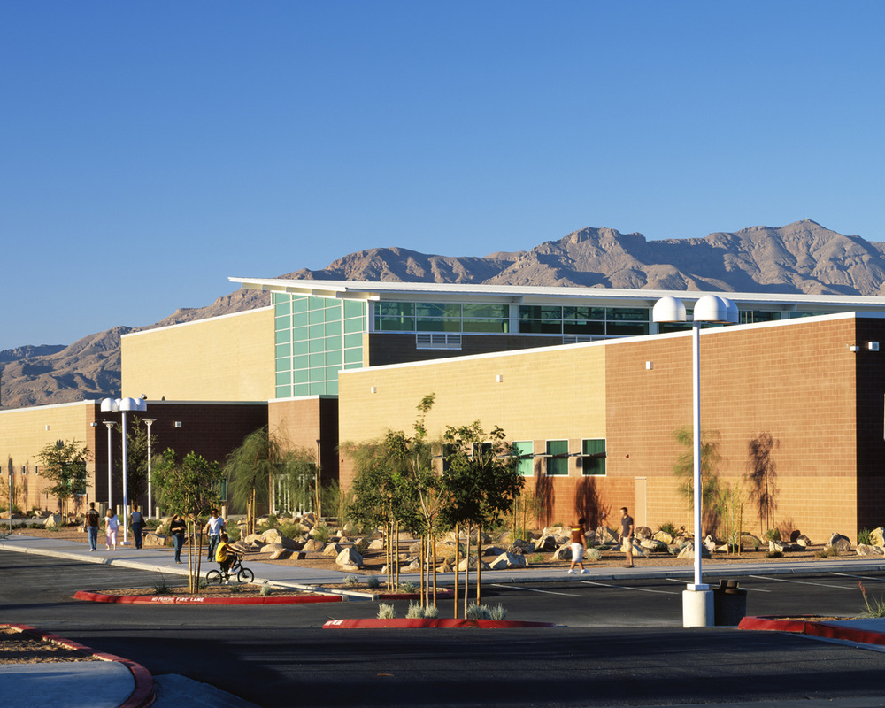 Arbor View High School Exterior