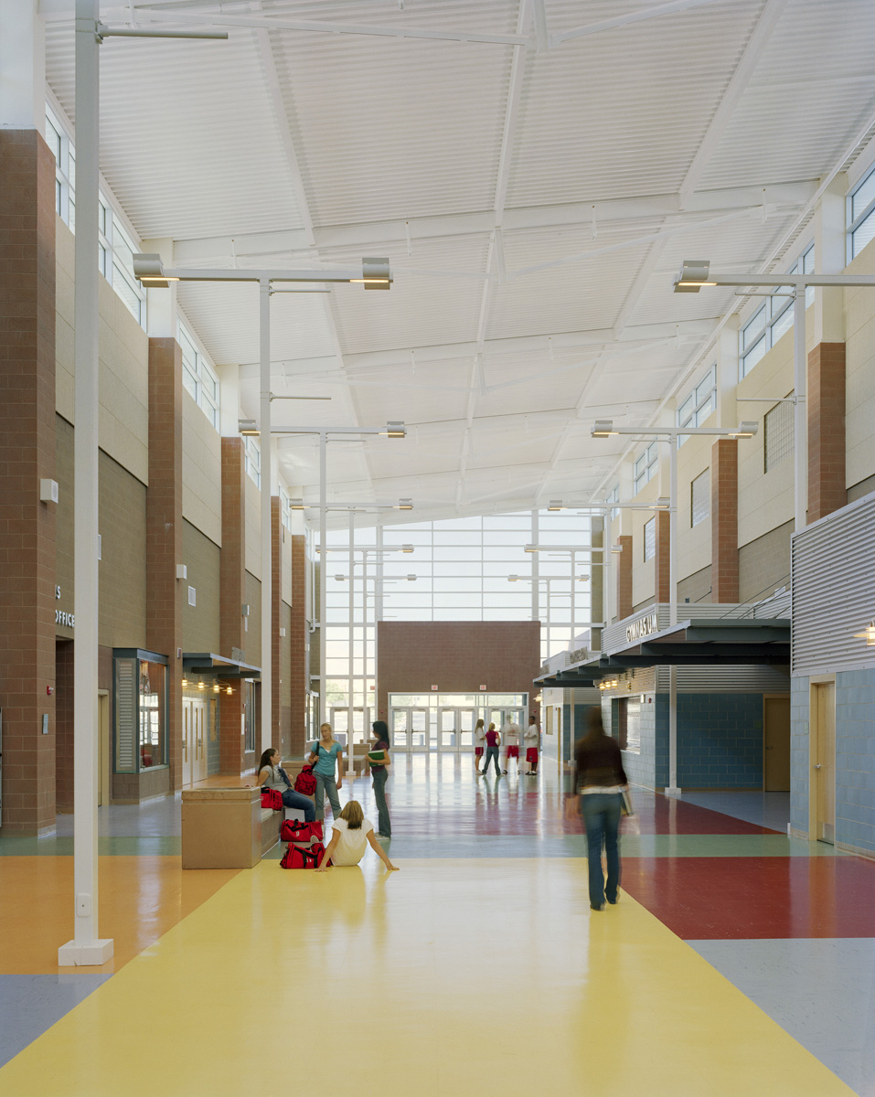 Arbor View High School Interior