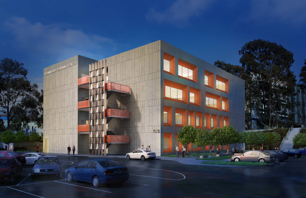 West Los Angeles College TLC Exterior Rendering