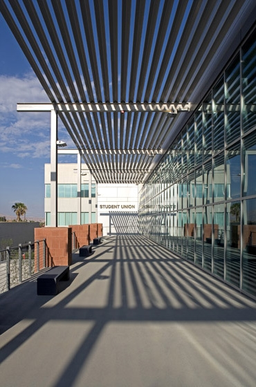 UNLV Student Union Second Level Balcony