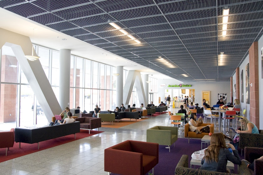 UNLV Student Union Second Level Lounge