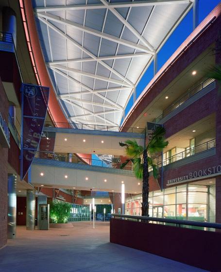 CSULA Golden Eagle Exterior