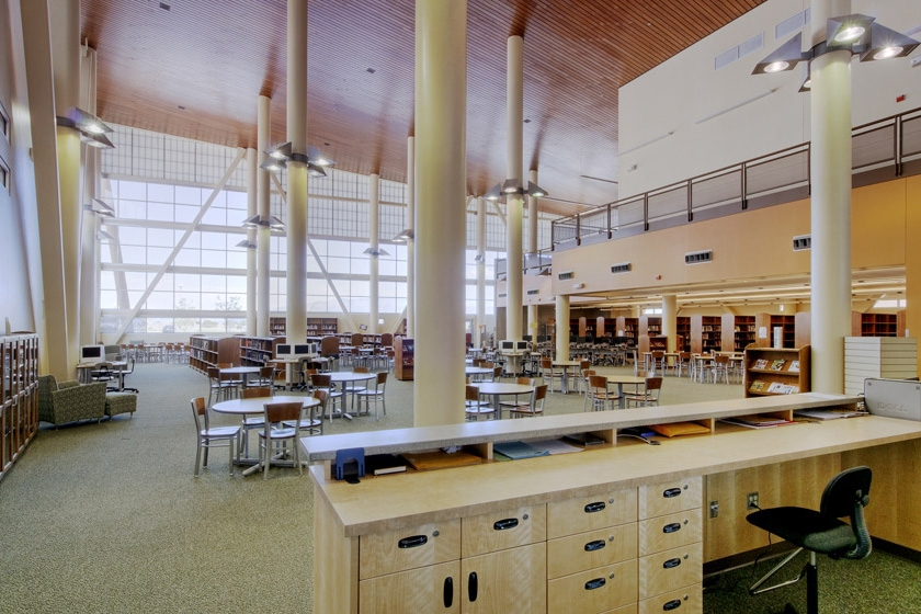Volcano Vista High School Study Hall