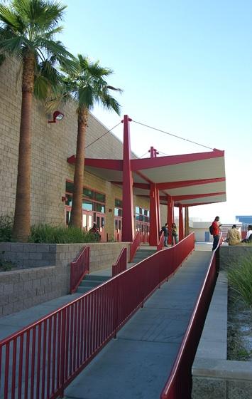 Western High School Exterior