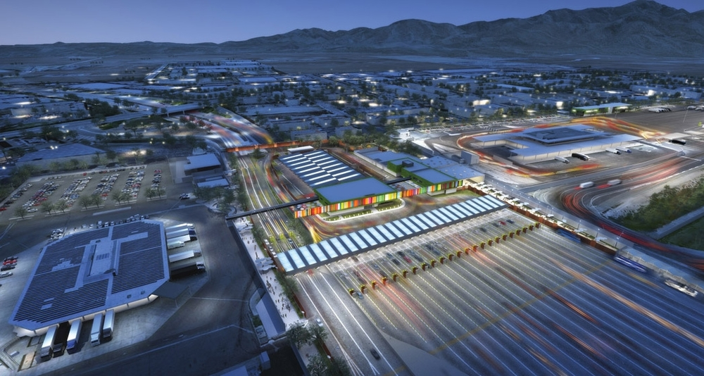 Otay Mesa Land Port Aerial Rendering