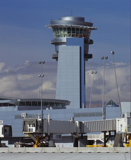 McCarran International Airport D Gates Exterior