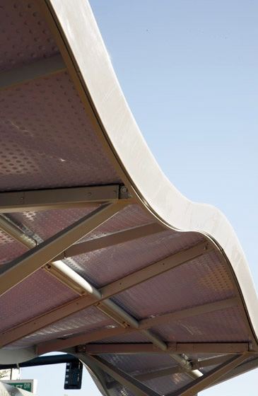 Ace Rapid Transit Shelter Detail