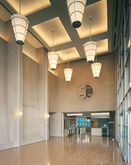 Clark County Regional Justice Center Entrance Interior