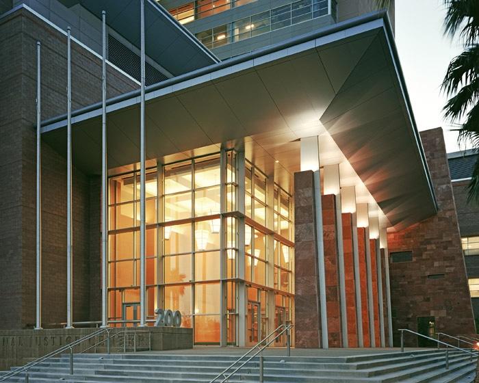 Clark County Regional Justice Center Entrance Exterior