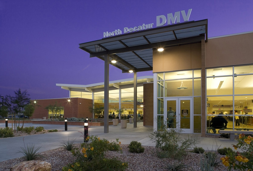 North Decatur DMV Entrance Exterior