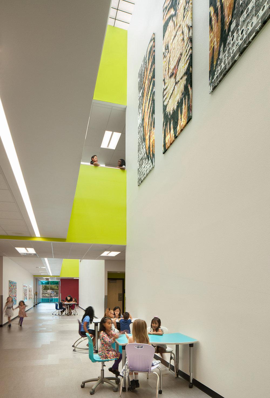 Lincoln Elementary School Interior