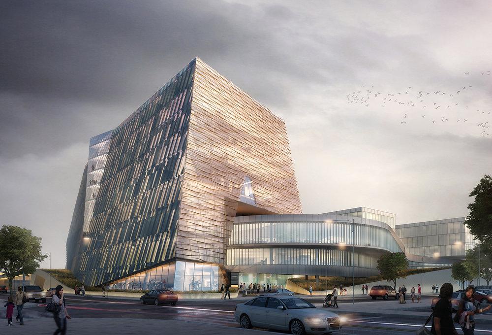 UNLV School of Medicine Building Rendering