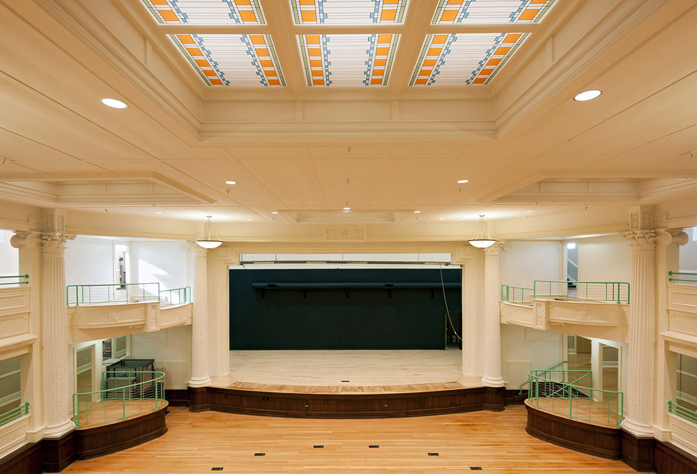 Historic High School Auditorium