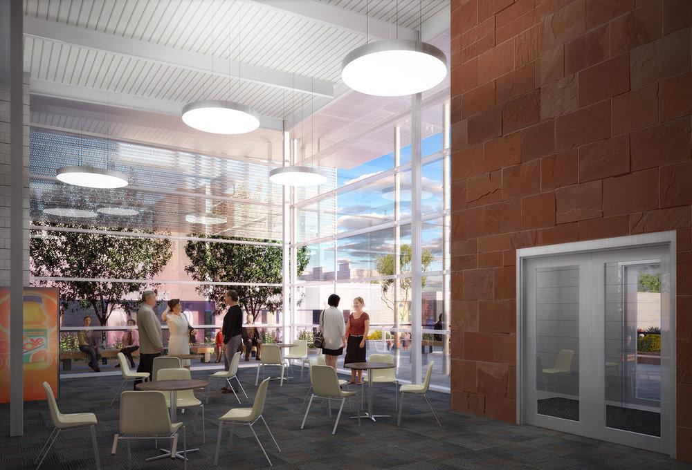 CSN Health Sciences Building Interior Rendering