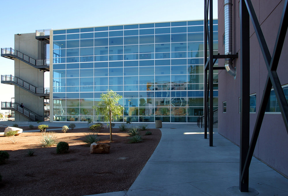 CSN Science Building Exterior