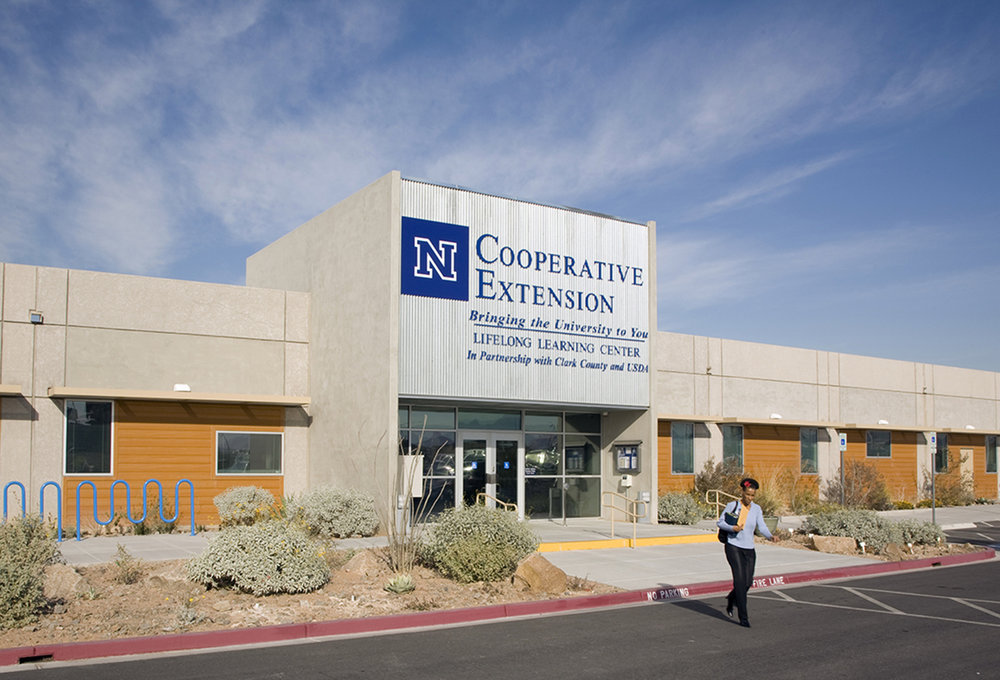 Nevada Cooperative Extension Entrance