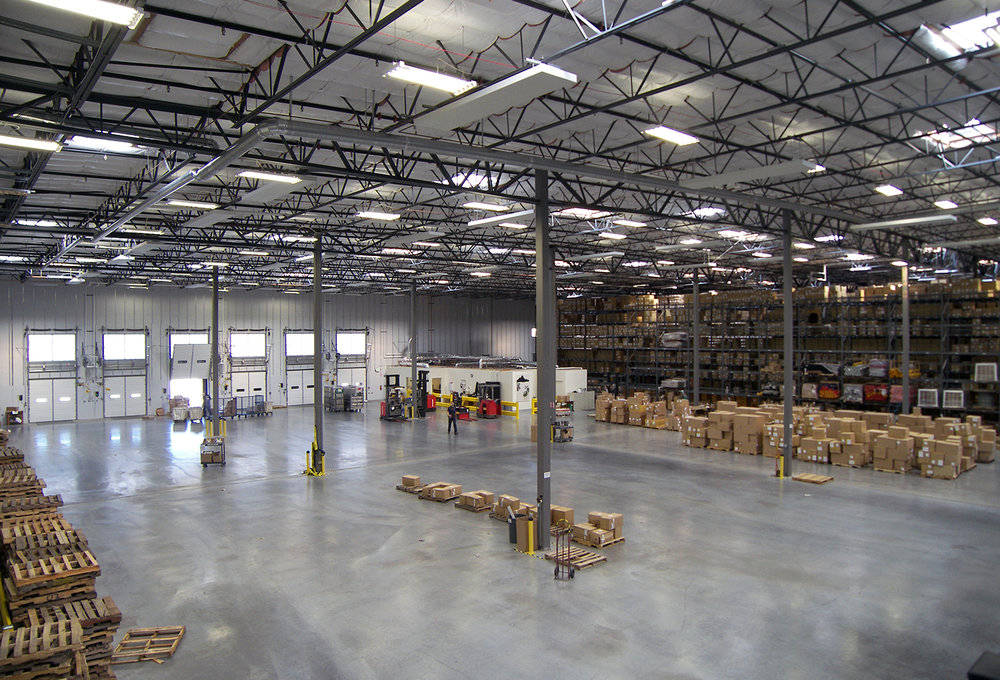 Patagonia Distribution Center Interior