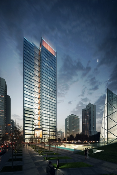 CHINA CONSTRUCTION STEEL STRUCTURE HEADQUARTER OFFICE