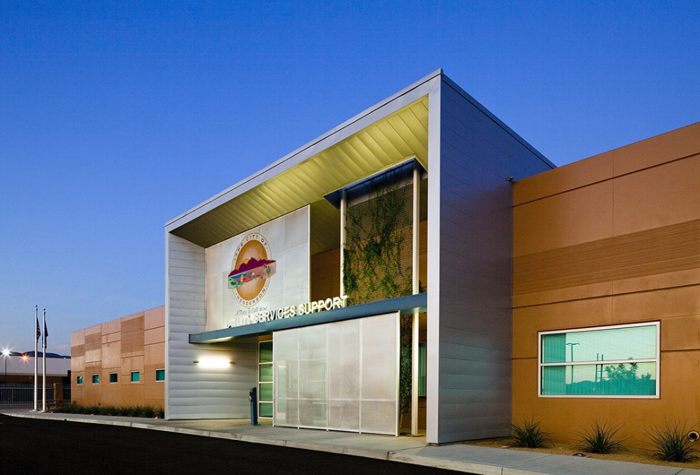 City of Henderson Utility Services Support Building