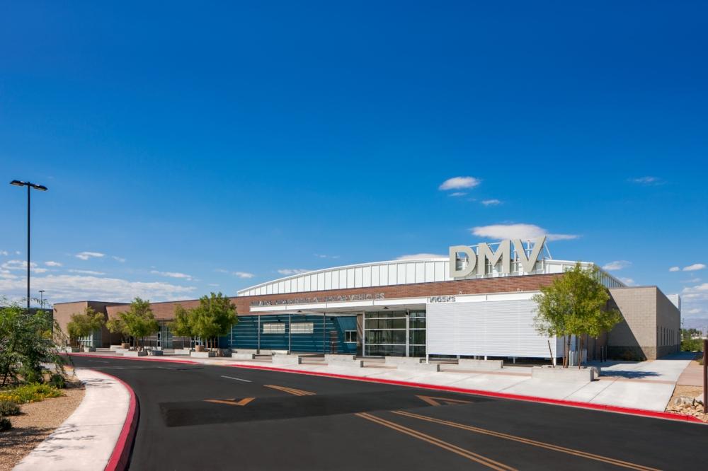 Sahara DMV Entrance Exterior