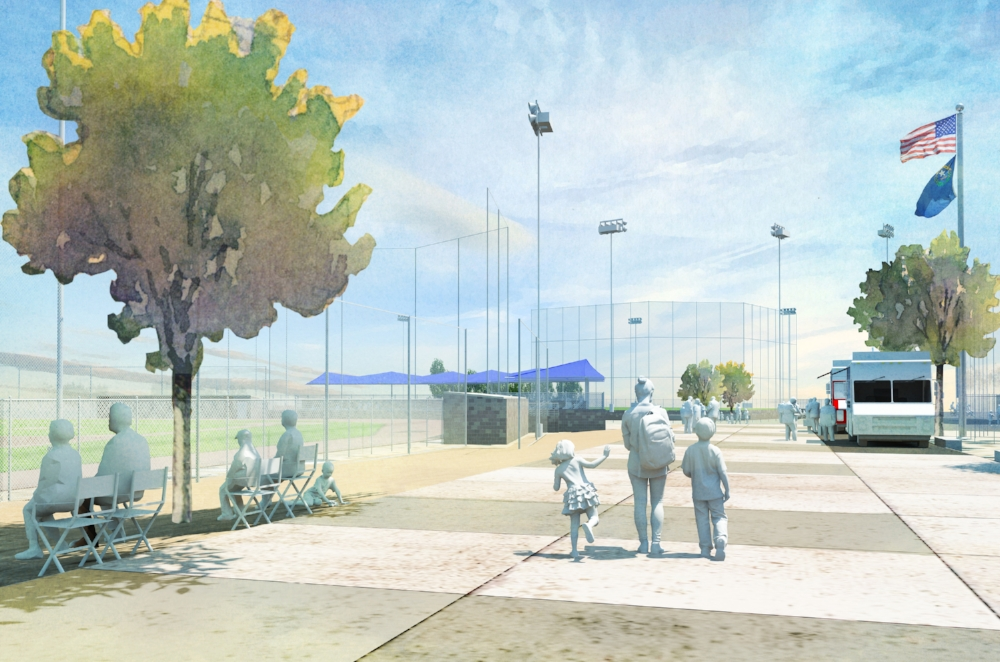 Mountain's Edge Ball Parks Rendering