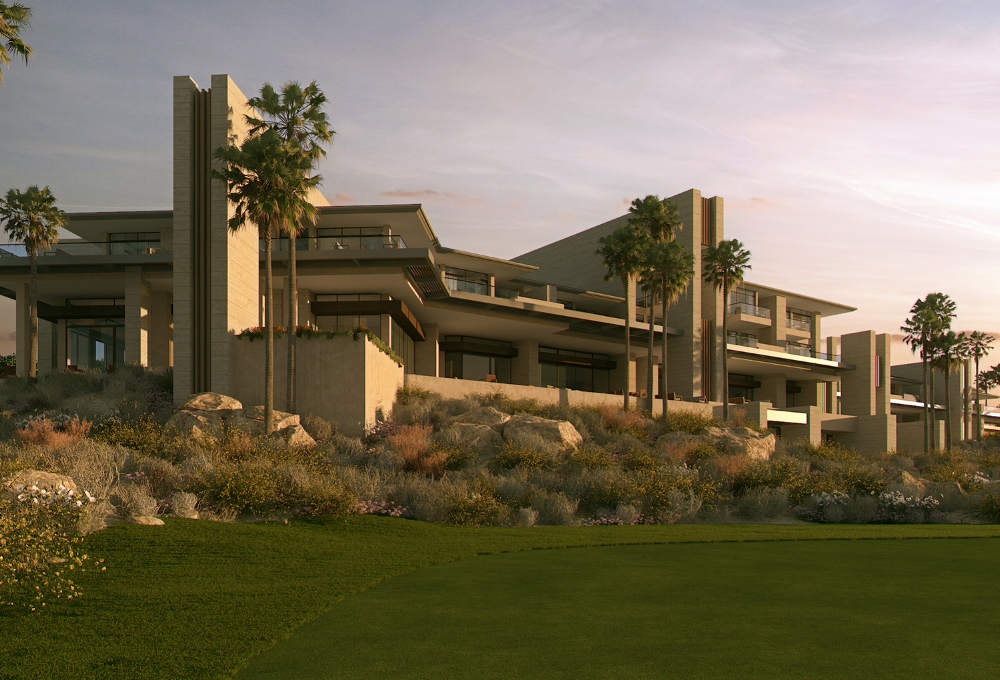 Summit Club Exterior Rendering