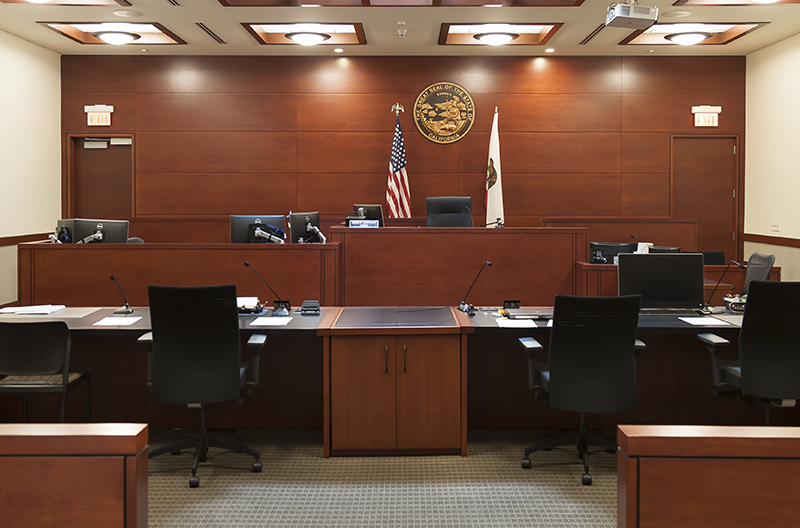 Southwest Juvenile Courthouse Courtroom
