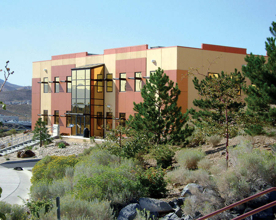 Great Basin DRI Science Sample Library Exterior