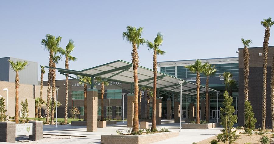 Rancho High School Exterior