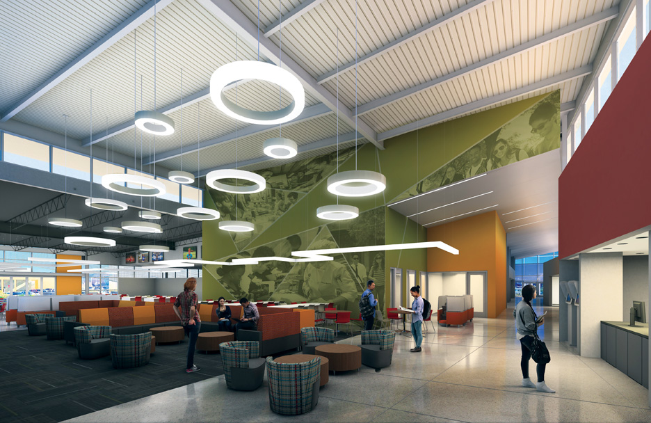 CSN Student Union Henderson Campus Interior