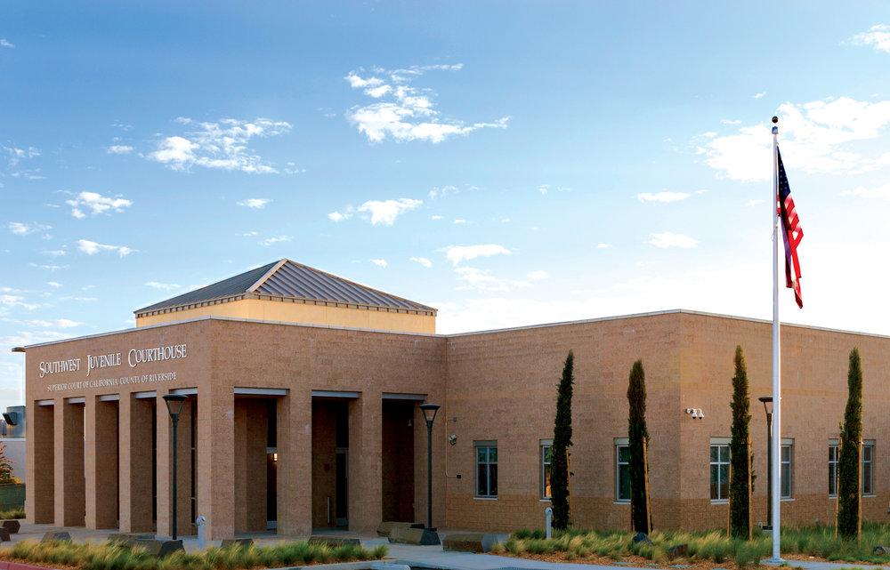 Southwest Juvenile Courthouse Exterior