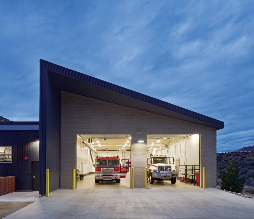 Mogul Fire Station No 35 Exterior