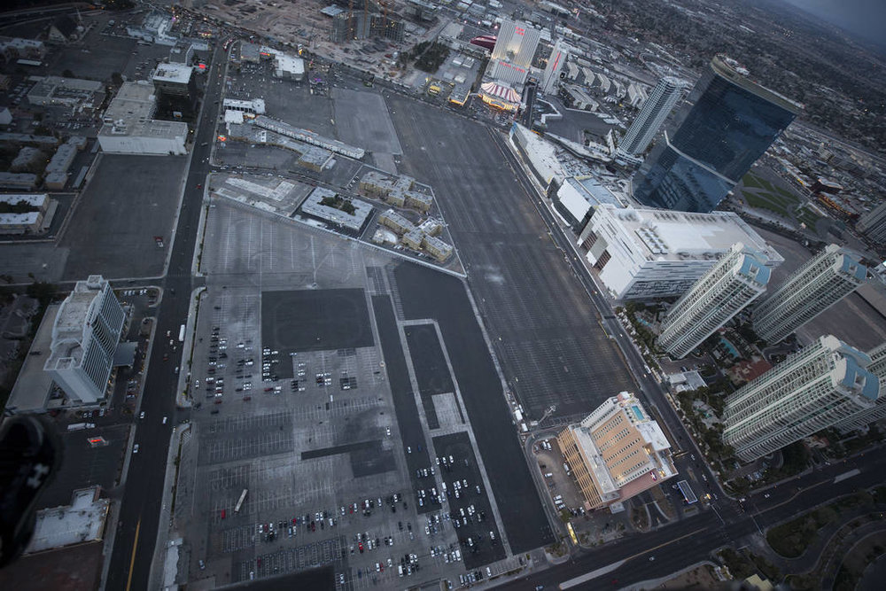 Site of the Las Vegas Convention Center expansion in Las Vegas on Monday, Feb. 12, 2018. Richard Brian Las Vegas Review-Journal