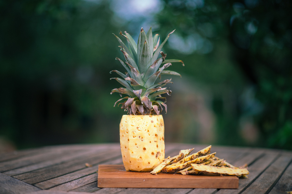 Beauty And Portrait Photographer's Tip :  Pineapple makes an amazing exfoliant.