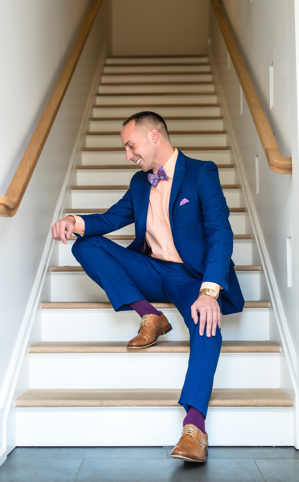 We ALL need a boost sometimes. This image perfectly captures my client and who he is. Fancy stylish socks and all. ;)  (c) 2018 Cate Scaglione | LifeasFineArt.com