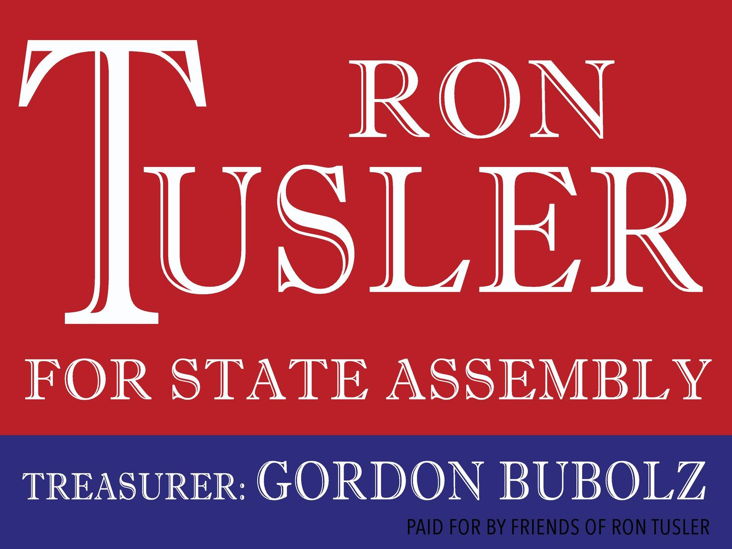 Ron Tusler Wisconsin State Assembly