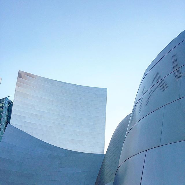 Simplistic + modern design is what we're all about! Our inspiration of the day is the Walt Disney Concert Hall 💭💙