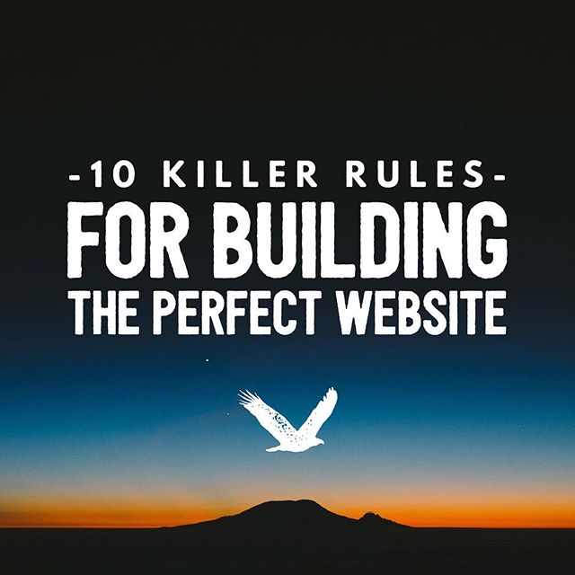 The very important basics of having a successful business is great customer service, a solid product/service, and your biggest marketing/credibility, a website! Learn the 10 Killer Rules For Building the Perfect Website from us to you! If you want our exclusive ebook, comment your email down below and we'll send it to you 🎉👌🏼