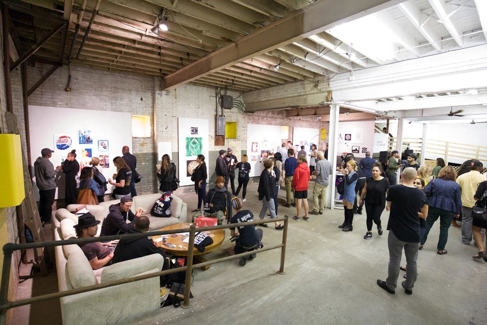 OPENING NIGHT PRINT EXHIBITION at the 1xRun Warehouse