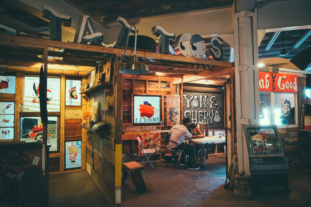 SHERYO + THE YOK'S PING-PONG AUTO SHACK  at the 1xRun Warehouse