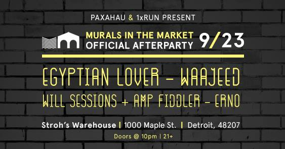 OFFICIAL AFTER PARTY - Presented by Paxahau & 1xRUNat Stroh's Warehouse