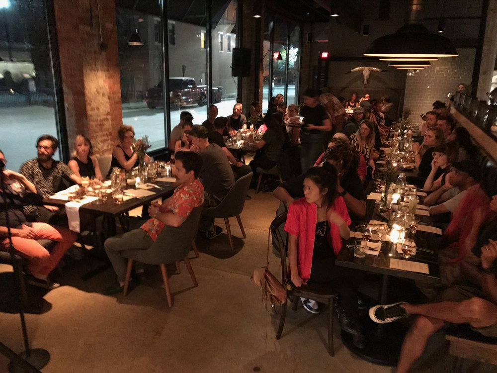 WELCOME DINNER WITH LOT 40 at Grey Ghost Detroit