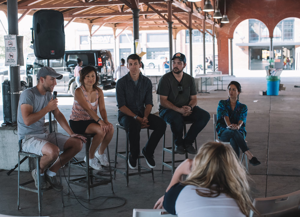 THINKING GLOBAL, BUYING LOCAL PANEL DISCUSSION at Eastern Market