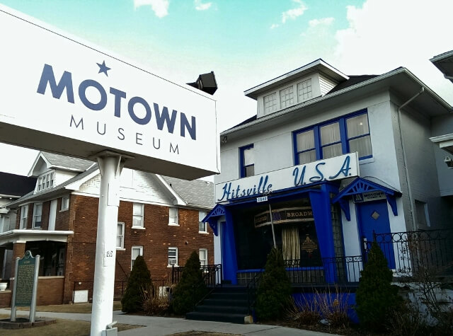 Motown Museum  New Center   Also known as Hitsville, USA, this museum is housed in the famous Motown Records original recording studio, and home Motown music mogul, Barry Gordy.      2648 W. Grand Blvd 313.875.2264   Website