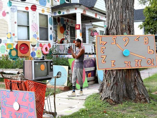 "Heidelberg Project  Heidelberg   The brain child of MITM alum Tyree Guyton, this world renowned public art exhibition's mission is ""to improve the lives of people and neighborhood through art"".      3600 Heidelberg 313.458.8414   Website"