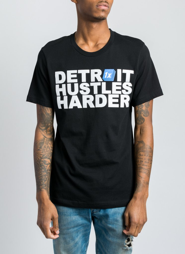 Aptemal / Detroit Hustles Harder / Division Street Boutique  Eastern Market   The official retailer of MITM merchandise.   1353 Division St. 313.285.8887   Website