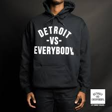 Detroit vs. Everybody Eastern Market A homegrown clothing and accessory label that embodies the pride and unapologetic spirit of our beloved Detroit since 2012. 2501 Russell Website