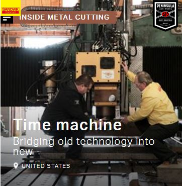 Peninsula Iron Works, In The News, Go to Sandvik to read the article.